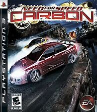 Need for Speed Carbon PS3 disc only, no booklet.