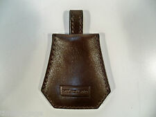 Mulholland Brothers Leather Valet Key Caddy Chain Fob Keychain, Stout Color, NEW
