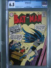Batman #112 CGC 6.5 DC Comics 1957 1st app Signalman (Phillip Cobb)