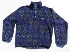 Vintage PATAGONIA Aztec Indian Tribal Southwestern Snap T Sweater USA Medium