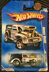 HOT WHEELS VHTF 2009 CITY WORKS SERIES MORRIS WAGON GASSER