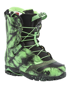 Brand New Northwave Decade Snowboard Boot Size 30 (GREEN) RRP $399