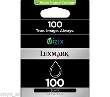 Original Lexmark 100 Black Ink Cartridge for S815 S605 S405 S505 Pro901 Pro803