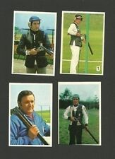 Guns Rifles Firearms Shooting Olimpiadi Olympics 1976 Sticker Cards from Italy