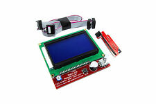 Controlador inteligente RepRap Genuino Keyes 128x65 Pantalla LCD RAMPS 3D Flux Workshop