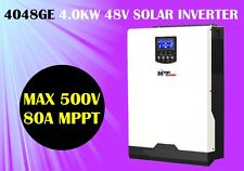 High PV input 500v off grid Solar inverter 4000w 48vdc 230vac + battery charger
