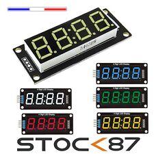 """TM1637 afficheur 4 chiffres LED 0,56"""" 14,2mm rouge blanc bleu vert jaune"""