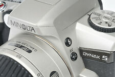 Minolta Dynax 5 35mm Film SLR with 28-80mm Macro Lens - High Specification