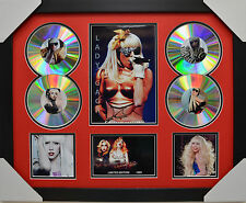 LADY GAGA SIGNED FRAMED MEMORABILIA LIMITED EDITION