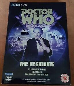 Original BBC DVD BOX Dr. Who The Beginning Doctor Who Die ersten 3 (no BluRay)