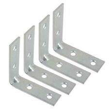"( 8 ) 3"" Zinc Plated Corner Braces"