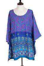 L1X 2X 3X Cotton Kaftan Caftan Shirt Top Tunic Dress P2015