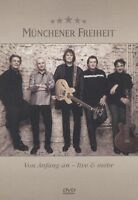 """MÜNCHENER FREIHEIT """"VON ANFANG AN-LIVE & MEHR"""" DVD NEU"""