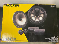 Kicker 43CSS654 CS SERIES 6-1/2 Components Full Range Stereo Speakers Set
