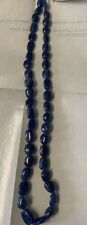 Natural Untreated Blue Sapphire Graduated Beads Strand 16 inch Precious stones
