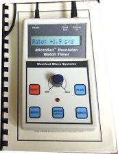 Microset Watch Timer Pro timing machine timegrapher, CRONOCOMPARATORE x COMPUTER