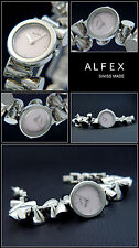 PLAYFUL DESIGNER WOMEN'S WATCH Alfex swiss made Complete Stainless Steel NEW