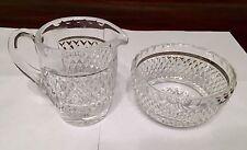 Waterford Crystal Glass sugar bowl & Panna Alana Pattern