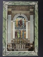 Birmingham BURNE JONES WINDOW St Phillips Church c1911 by Raphael Tuck 900