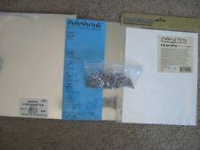 Lot of Heat Shrink Plastic Film Sheets for Crafts