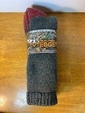 2 Pair RealTree Edge Carolina Ultimate Wool Blend Socks size 9-13 Made in USA