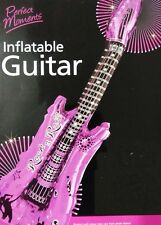 LARGE FUN INFLATABLE NEON GUITAR BLOW UP FANCY DRESS PARTY MUSICAL PARTY NEW