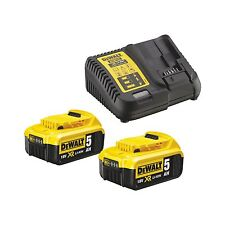 Dewalt Dcb115p2 Batería kit de inicio cargador Dcb115 2 X 5 0ahah Dcb184