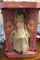 VINTAGE VERY RARE ALLIED DOLL AND TOY CORP. JUNE BRIDAL DOLL NEW IN BOX