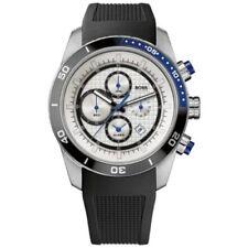 Hugo Boss Herren Schwarze Silikon Armbanduhr Alarm Sport Chronograph Uhr 1512660