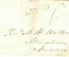 IRELAND Postmark *CLONES* Co.Monaghan Cover Navan RARE Early Namestamp 1815 F129