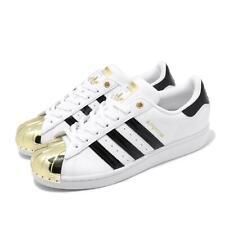 Adidas Originales Superstar metal del dedo del pie W Blanco Dorado Negro Mujeres Informal Zapato FV3310