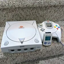 Sega Dreamcast HKT-3020 White Console w/ Controller, Cables and VMU Tested [1A]