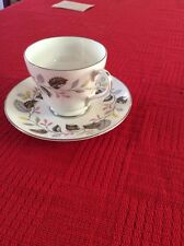 Shelley Vintage Ferndown Floreale Tazza Piattino Set C1950