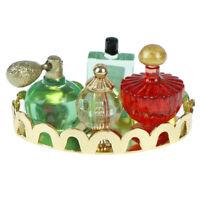Casa de muñecas mini perfume set simulación perfume modelo juguetes