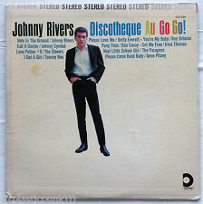 Johnny Rivers Discotheque Go Go! LP Betty Everett~Roy Orbison~Paragons~Clovers