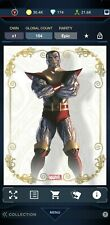 Topps Marvel Collect TIMELESS COLLECTION EPIC GOLD PROFILES Colossus