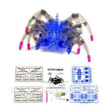 Puzzle Electric Spider Robot DIY Educational Science Kit Build Assemble Toy Gift