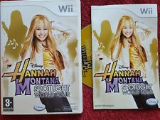 DISNEY HANNAH MONTANA SPOTLIGHT WORLD TOUR NINTENDO WII PAL