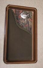 ZEP-PRO Duck Roper Leather Fence Row Camo Wallet GIFT TIN BOX