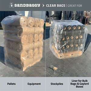 """Sandbaggy Clear Pallet Covers 