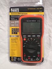 NEW Klein Tools MM1300 Electricians / HVAC Multimeter Backlit Multi Tester Meter