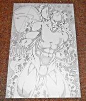 MARVEL Comics SILVER SURFER Original Art Galactus THANOS INFINITY COSMIC WARLOCK