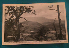 Vinatge 1935 Great Smoky Mountains National Park Mount LeConte TN