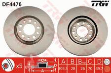 Original TRW Bremsscheiben 305,5mm belüftet DF4476 für Vorderachse Alfa Romeo