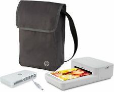 "HP - Sprocket Studio Bundle 4"" x 6"" Photo Printer with Power Bank and Bag"
