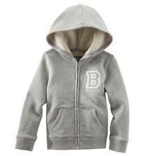 Vestiti e abbigliamento grigi in misto cotone con maniche lunghe per bambina da 0 a 24 mesi