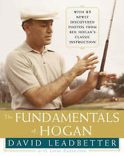 """AS NEW"" The Fundamentals of Hogan, Leadbetter, David, Book"