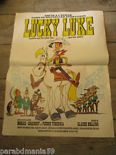 Vente lucky luke-Ancienne affiche de cinema-Visa numéroté-Rare-