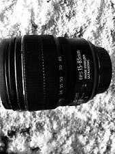 Canon EF-S 15-85mm f3.5-5.6 IS USM Lens EFS                                 #607
