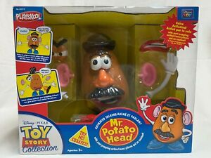 RARE Thinkway PlaySkool Toy Story Animated Talking Mr. Potato Head Popping Parts